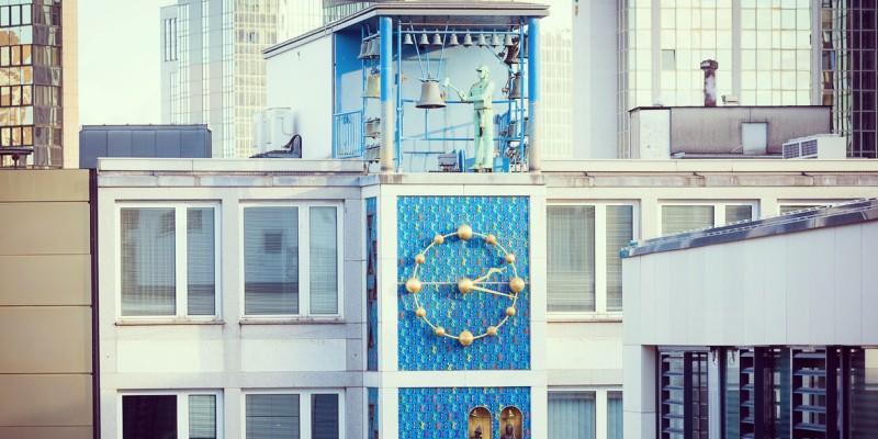 "The ""Glockenspiel"" (chimes) on Kettwiger Street"