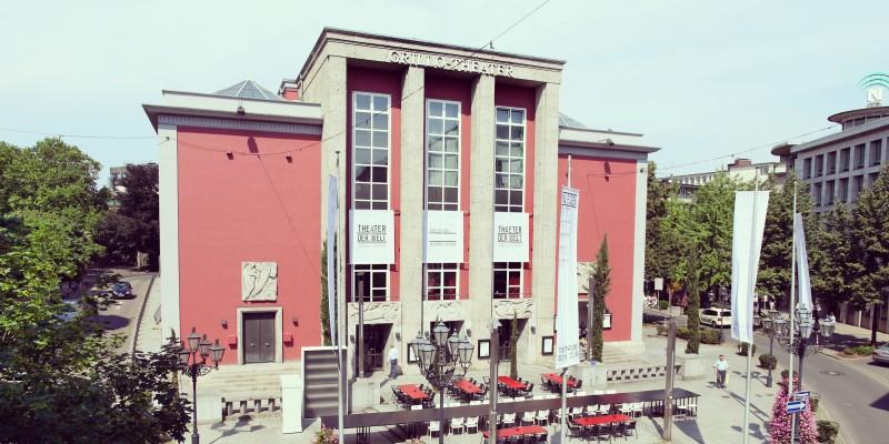 Außenansicht Grillo-Theater