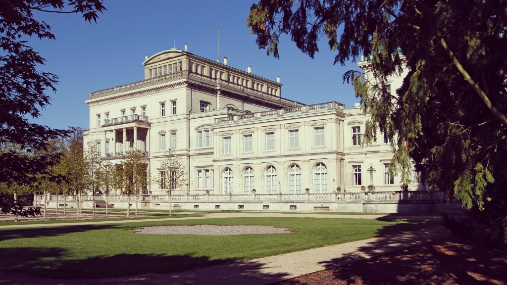 Villa Hügel - Südfassade