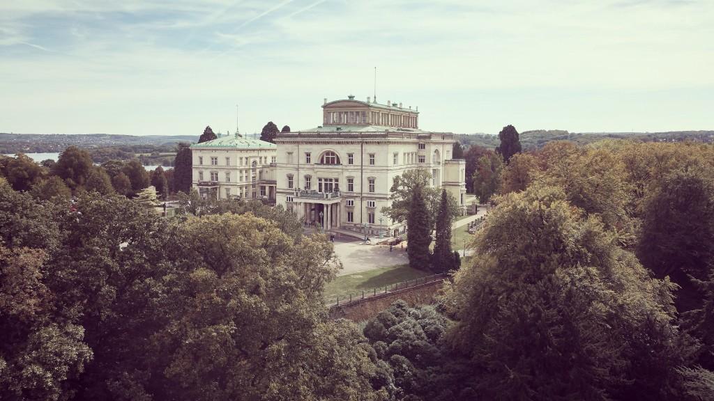 Villa Hügel - Nordfassade