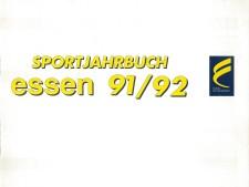 Buchtitel aus Sportjahrbuch Essen 1991-1992