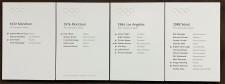 Tafel Olympia Teilnehmer Essener Vereine 1972 bis 1988