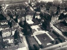 Luftbild von der Viktoriaschule