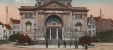 Bild Essener Theater auf einer Postkarte