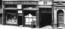 Foto Haus Grabenstraße 67, heutige Friedrich-Ebert-Straße, Aufnahme etwa 1907