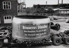 Foto Einbau der Maischepfanne zum 90jährigen Jubiläum