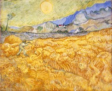 Foto Vincent van Gogh, La moisson, 1889, Museum Folkwang, Essen