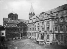 Foto Abtei Werden mit der Basilika im Hintergrund