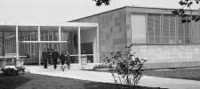 Foto Eröffnung des Neubaus des Museums Folkwang, Essen-Südviertel, Mai 1960