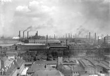 Foto Panorama Krupp-Werke Westvierte um 1910