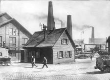 Foto Stammhaus Krupp um 1900