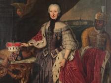 Gemälde Fürstäbtissin Franziska Christine von Pfalz-Sulzbach 1772