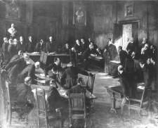 Foto Besuch des Kaisers in der Stadtverordnetenversammlung 1896