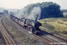Foto Güterzug Bereich Essen Dellwig 1969