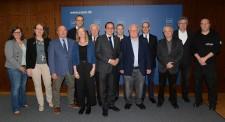 Oberbürgermeister Thomas Kufen begrüßt im Rathaus den neuen Vorstand des Historischen Vereins, 15.05.2019