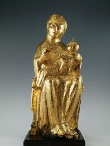 Foto der Goldenen Madonna um 980