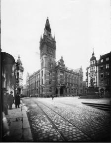 Foto Rathaus um 1905