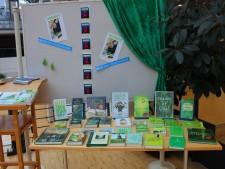 Büchertisch zur Grünen Hauptstadt