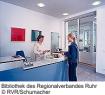 Benutzertheke der Bibliothek des Regionalverbandes Ruhr