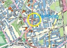 Umgebungskarte der Stadtteilbibliothek Katernberg