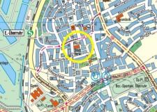 Umgebungskarte der Stadtteilbibliothek Überruhr