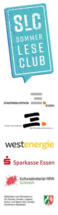 Die Sponsoren des SommerLeseClubs 2021 der Stadtbibliothek Essen