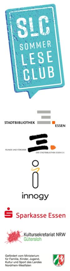 Die Sponsoren des Sommerleseclubs 2019 der Stadtbibliothek Essen