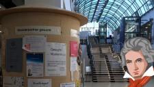 Zentralbibliothek mit Beethoven
