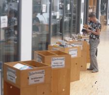 Flohmarkt in der Zentralbibliothek