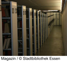 Das Magazin der Stadtbibliothek Essen