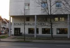 Außenansicht der Stadtteilbibliothek Altenessen