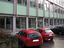 Außenansicht der Stadtteilbibliothek Holsterhausen