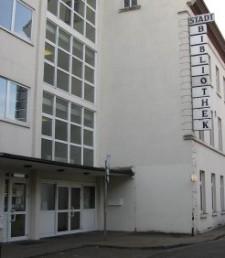 Außenansicht der Stadtteilbibliothek Kettwig