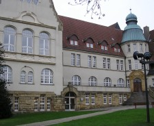 Außenansicht der Stadtteilbibliothek Kray