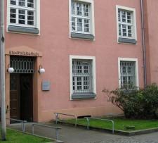 Außenansicht der Stadtteilbibliothek Stoppenberg