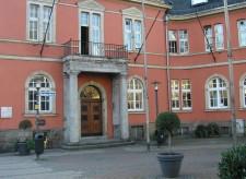 Außenansicht der Stadtteilbibliothek Werden