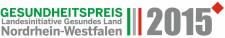 Mit diesem Siegel werden die Preisträger des NRW-Gesundheitspreises ausgezeichnet.