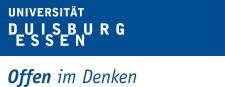 Textmarke der Universität Duisburg Essen