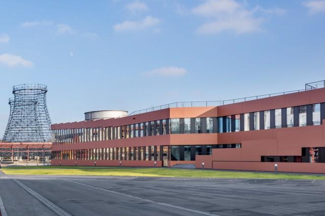 Foto: Zollverein - Verwaltungsgebäude RAG-Stiftung und RAG AG