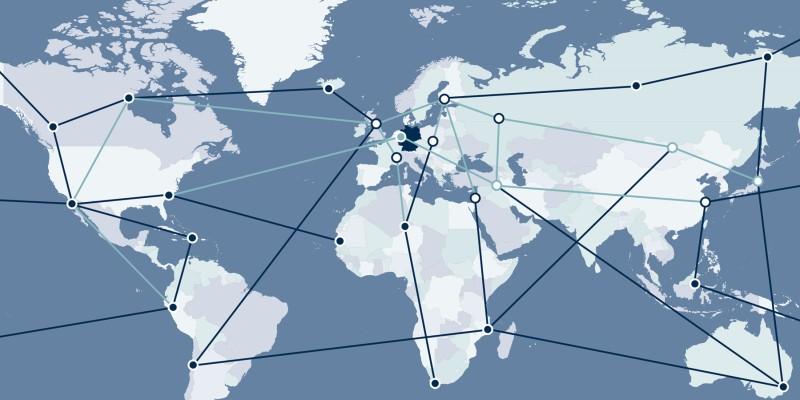 Karte Netzwerke