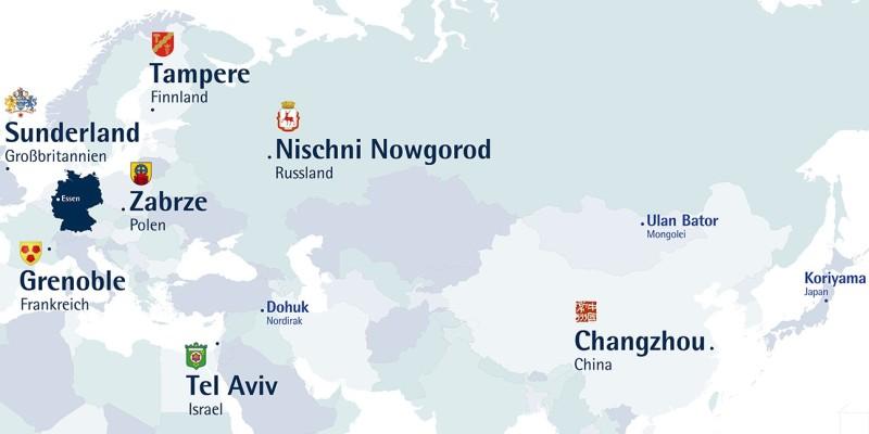 Karte International Partner