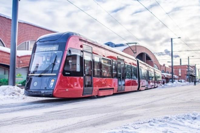Straßenbahn in Tampere