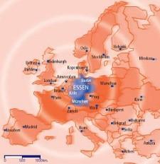 Grafik: Europakarte