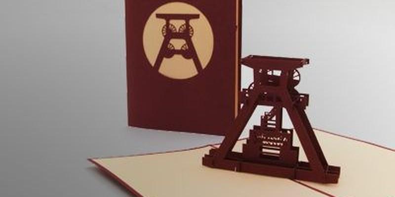 Ansicht Grußkarte Zollverein