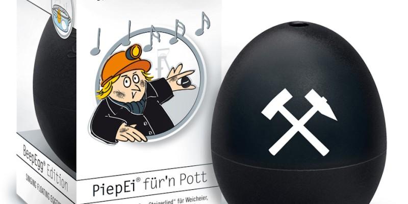 Souvenirartikel PiepEi® für'n Pott