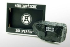 Souvenirartikel Seife Kohlenwäsche in Kohlenoptik