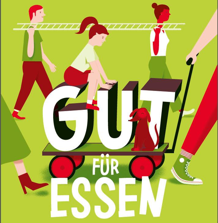 """Logo: """"Gut für Essen"""""""