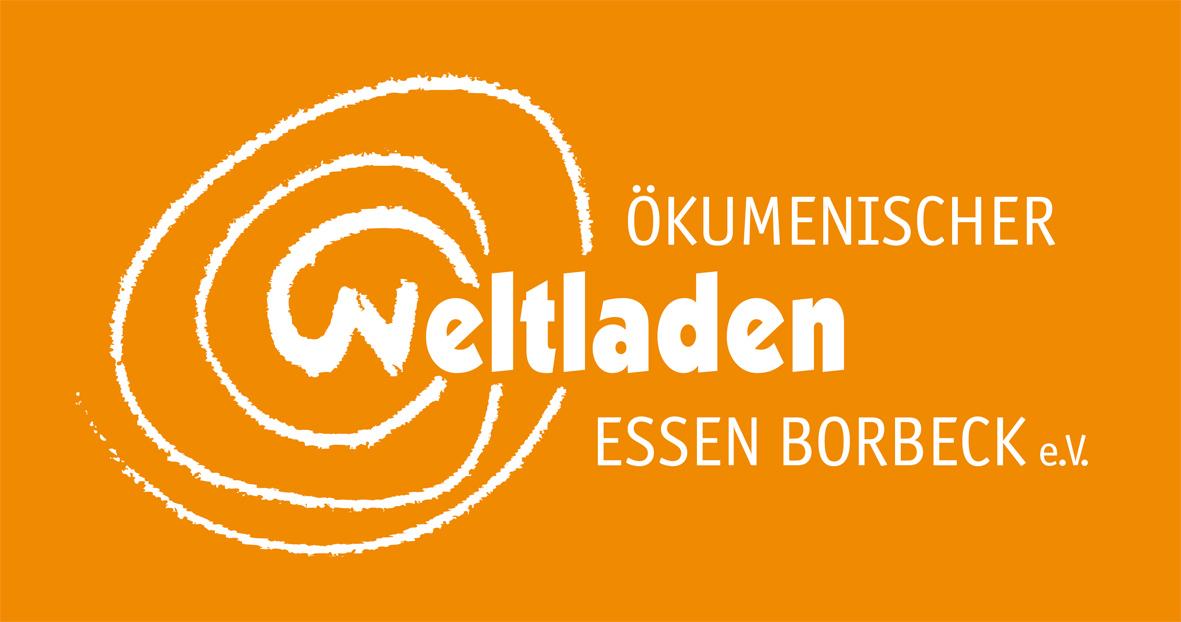 Schriftzug Ökumenischer Weltladen Essen-Borbeck e.V.