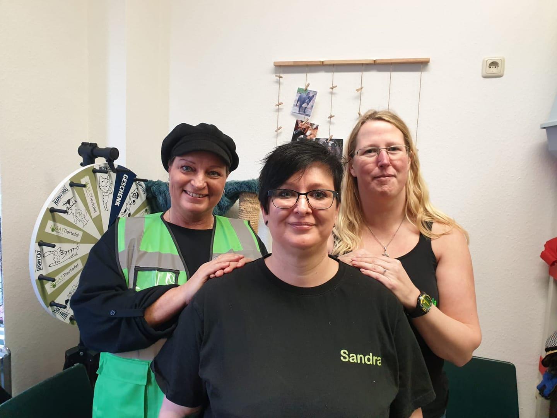 Drei Mitgliederinnen des Vorstands
