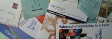 Foto: Broschüren zum Thema Bürgerengagement